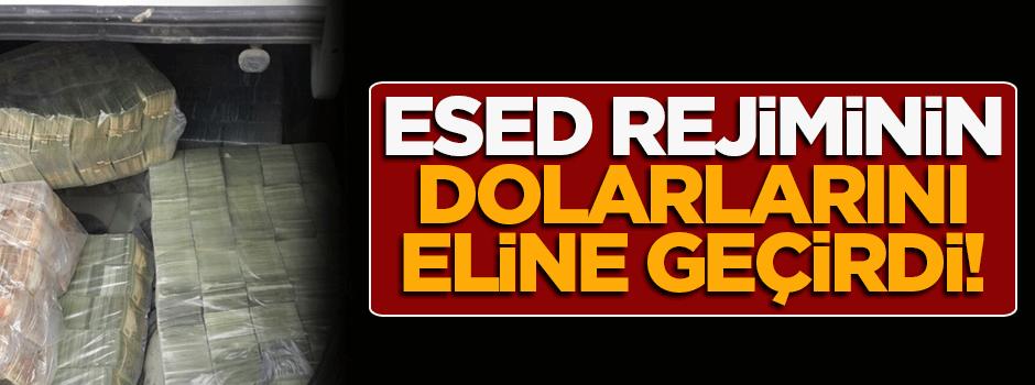 Nusret Cephesi Esed rejiminin 1 milyon dolarını ele geçirdi