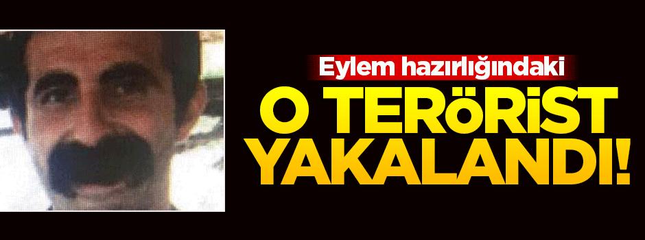 O terörist PKK operasyonunda yakalandı