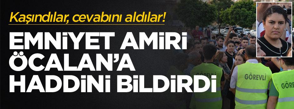 """Öcalan ile polis amiri arasında """"üst arama"""" tartışması"""