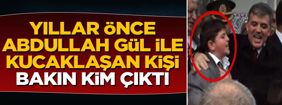 Öldürülen PKK'lı terörist yıllar önce Abdullah Gül ile...