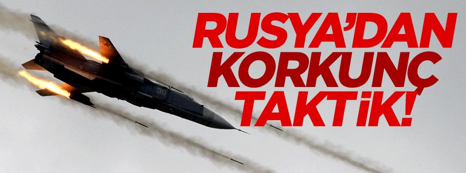 Rusya'dan korkunç taktik!