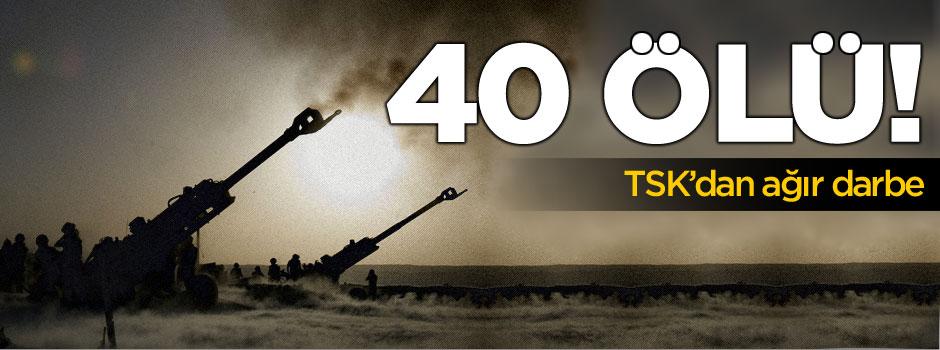 Terör örgütüne operasyon: 40 ölü