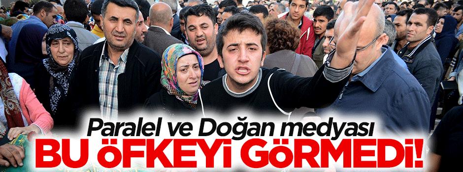 Paralel ve Doğan Medyası PKK öfkesini görmedi!