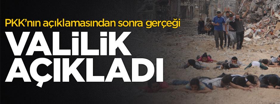 PKK 'çekildik' demişti! Valilik açıklama yaptı