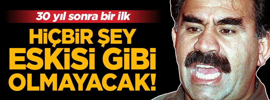 PKK ile mücadelede 30 yıl sonra bir ilk!