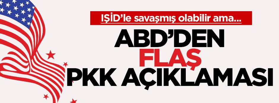 PKK, IŞİD'e karşı savaşmış olabilir ancak bir terör örgütüdür