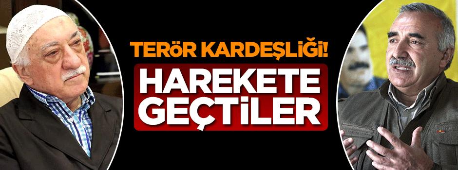 PKK kan kardeşi FETÖ için harekete geçti