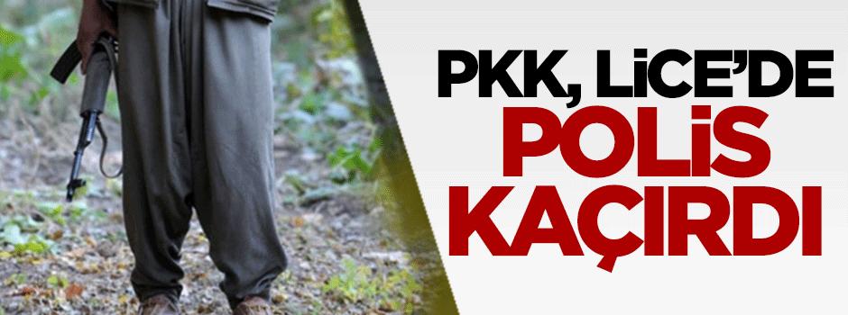 PKK, Lice'de polis kaçırdı