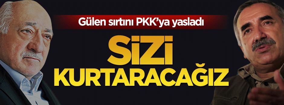 PKK'dan FETÖ'ye: Sizi kurtaracağız