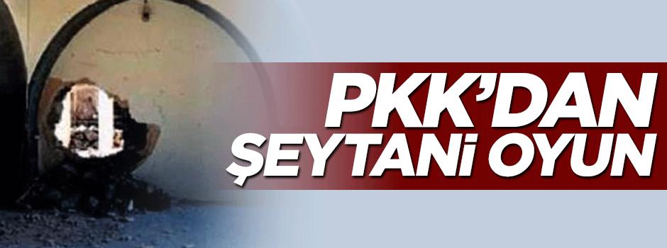 PKK'dan şeytani oyun