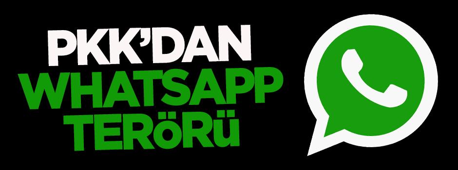 PKK'dan Whatsapp terörü