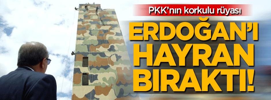 PKK'nın korkulu rüyası Erdoğan'ı hayran bıraktı!