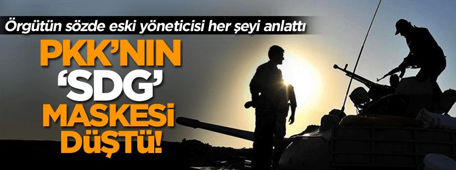 PKK'nın 'SDG' maskesi düştü!