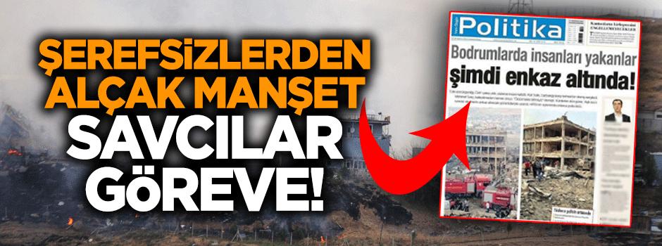 PKK'nın yeni yayın organından alçak manşet