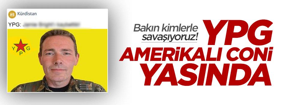 YPG Amerikalı komutanına ağlıyor