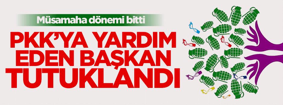 PKK'ya yardım eden HDP'li tutuklandı!