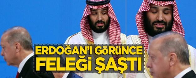Prens Selman, Başkan Erdoğan'ı görünce feleği şaştı