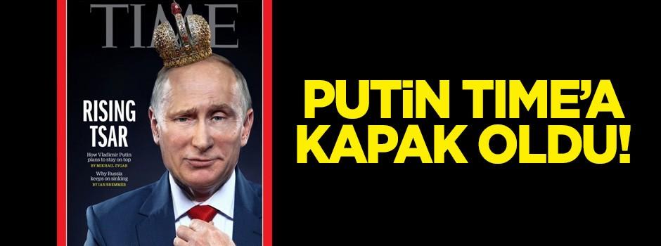 Putin Time dergisine kapak oldu