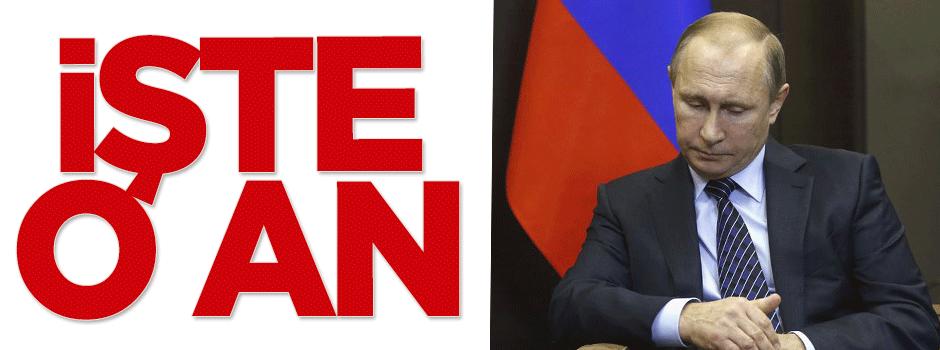 Putin'in dalgın halleri