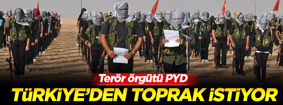 'PYD Türkiye'den toprak istiyor'
