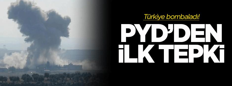 PYD'den top ateşine ilk tepki
