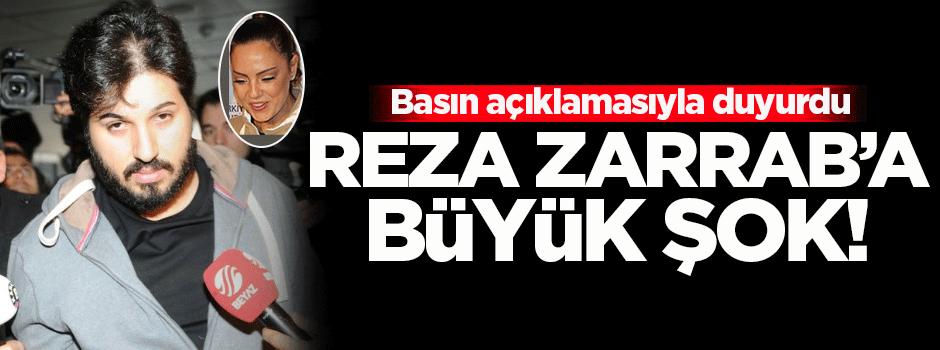 Reza Zarrab'a eşinden büyük şok!