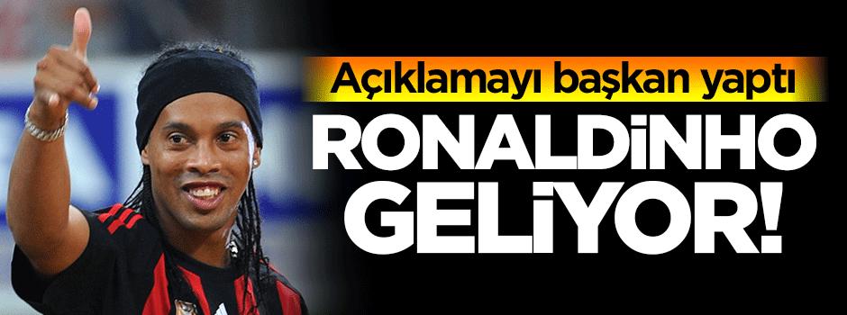 Ronaldinho Antalyaspor'a transfer ediliyor iddiası…