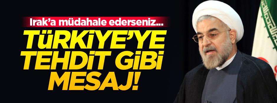 Ruhani'den Türkiye'ye tehdit gibi mesaj