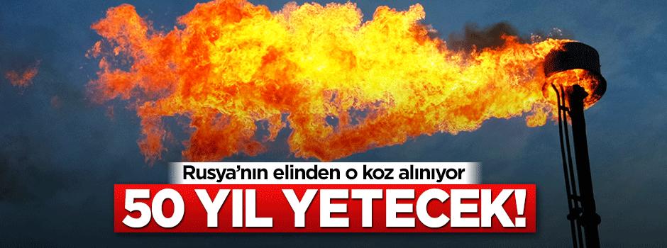 Türkiye'ye müjde! 50 yıl yetecek gaz verecek...