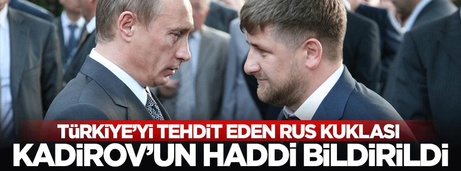 Rus kuklası 'Çakma Çeçen'e(soldaki) sert tepki