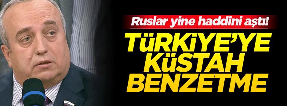 Rus senatörden Türkiye'ye küstah benzetme