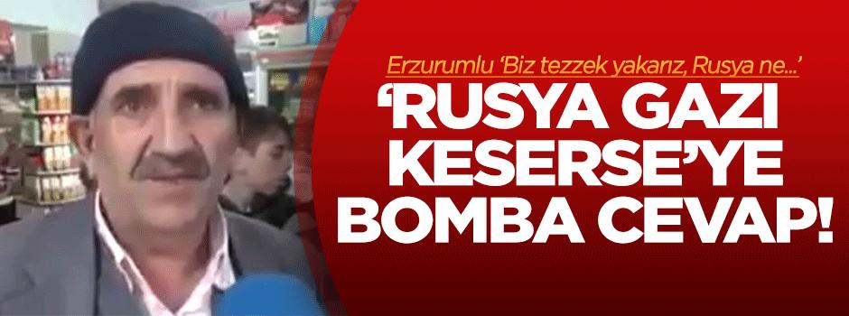 'Rusya gazı keserse'ye bomba cevap