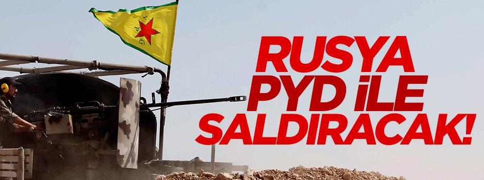 Rusya PYD'yi kullanacak