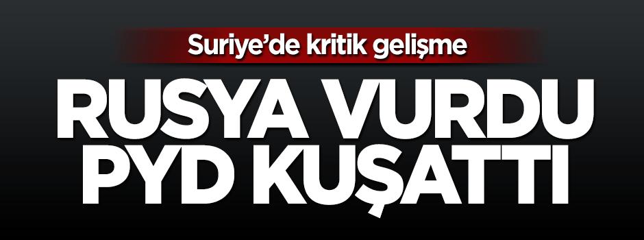 PYD Azez'i kuşattı