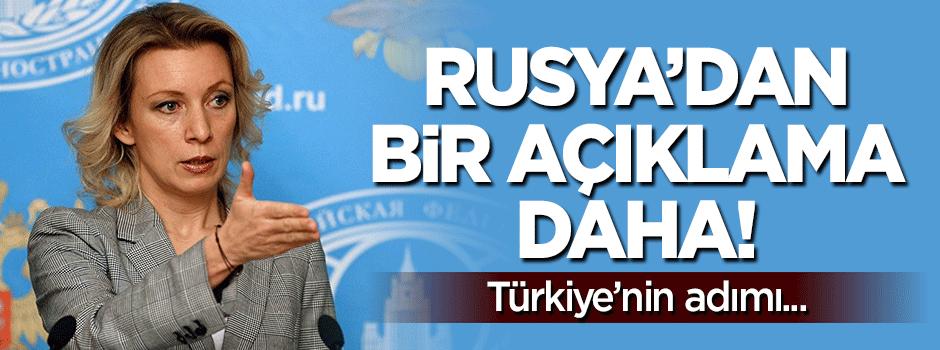 Rusya'dan bir açıklama daha: Türkiye...