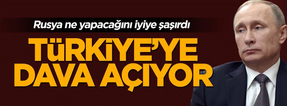 Rusya'dan tuhaf karar: Türkiye'ye dava açıyor