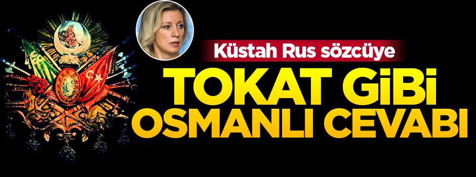 Rusya'nın Osmanlı benzetmesine tokat gibi cevap