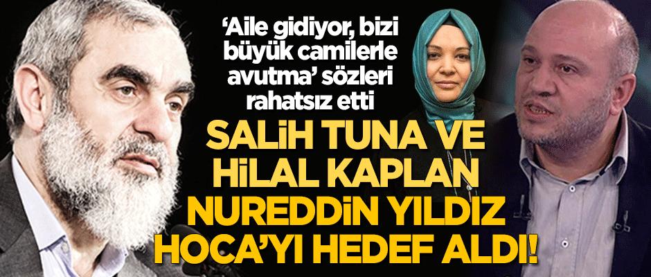 """Salih Tuna ve Hilal Kaplan """"Aile gidiyor, bizi camilerle avutma"""" diyen Nureddin Yıldız Hoca'yı hedef aldı!"""