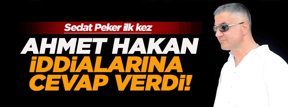 Sedat Peker, Ahmet Hakan saldırısıyla ilgili ilk kez konuştu