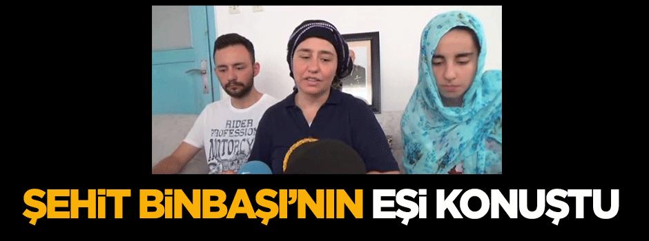 Şehit Binbaşı'nın eşi konuştu - VIDEO