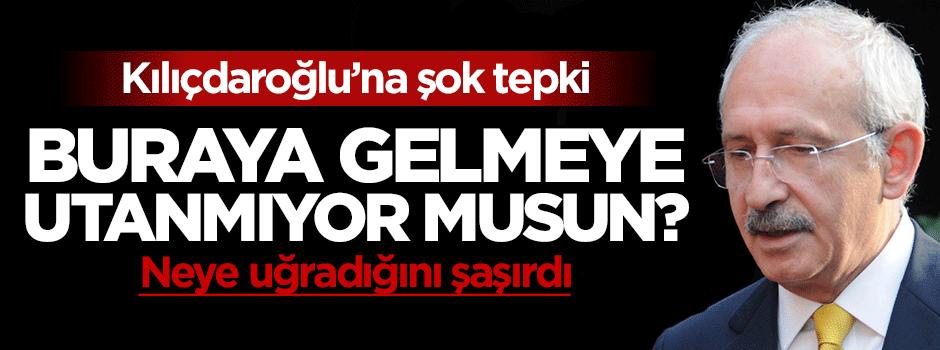 Kılıçdaroğlu'na şok tepki: Utanmıyor musun?