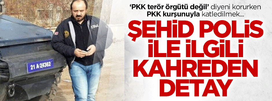 Şehit polis Ahmet Çiftaslan'la ilgili kahreden detay