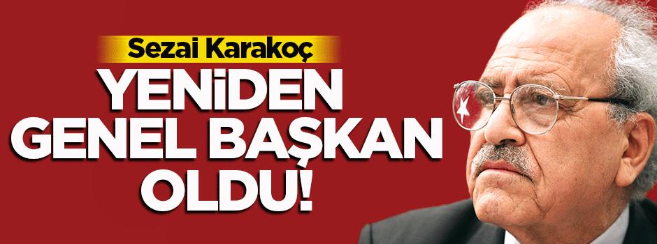 Sezai Karakoç yeniden genel başkan oldu