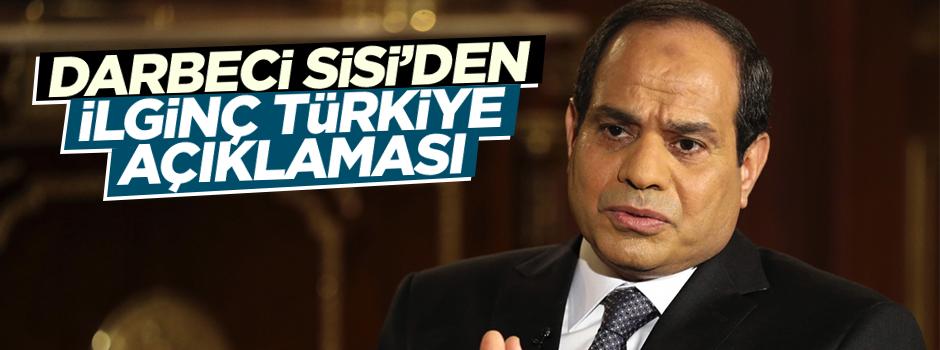 Sisi'den 'Türkiye' açıklaması