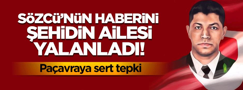 Sözcü'nün haberine 'Halisdemir' ailesinden yalanlama