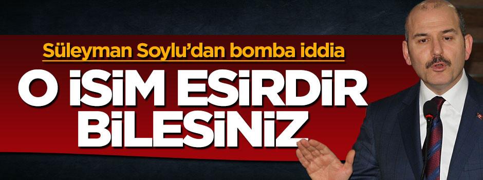 Bakan Soylu: Kılıçdaroğlu FETÖ'nün elinde esirdir
