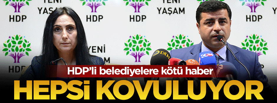Soylu'dan HDP'li belediye kötü haber