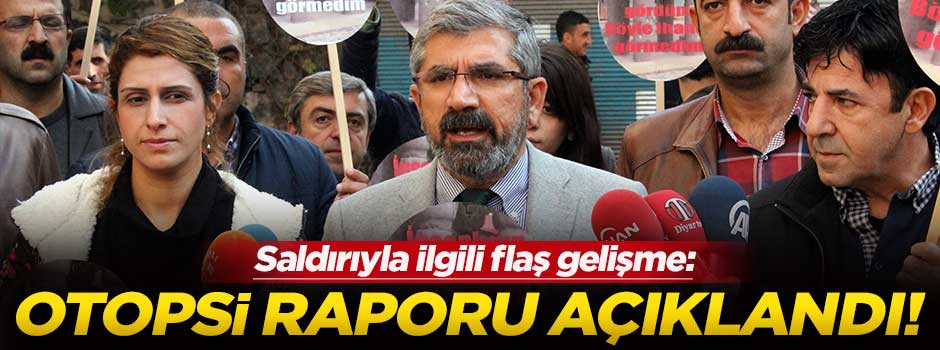 Tahir Elçi'nin otopsi raporu açıklandı