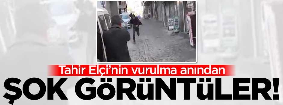 Tahir Elçi'nin vurulma anından şok görüntüler!