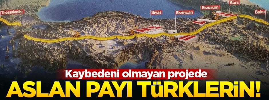 TANAP'ta aslan payını Türkler alacak